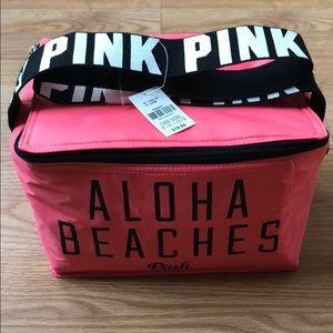 NEW PINK aloha beaches cooler